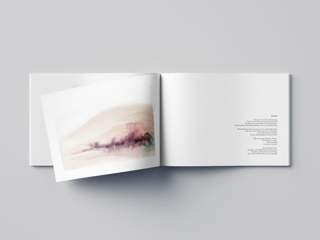 Design eines Fotobuchs
