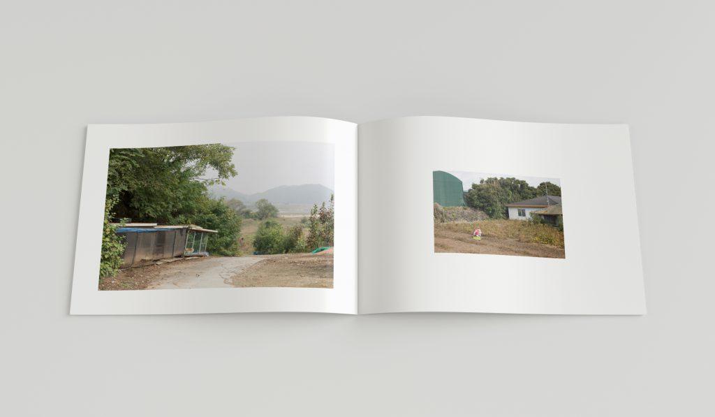 Layout von einem Fotobuch