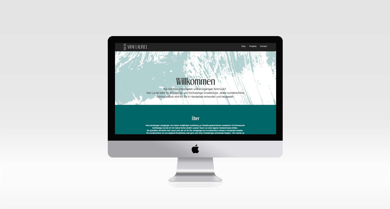 Erstellen einer individuell gestalteten Webseite mit passendem Corporate Design